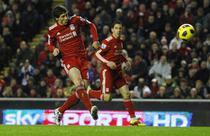 Fernando Torres, inca un gol pentru Liverpool