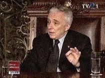 Mugur Isarescu la TVR