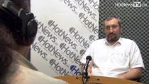 Calin Rotarus in studioul HotNews.ro