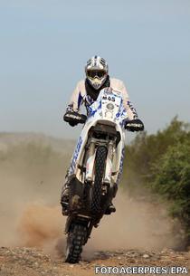 Mani Gyenes, la Raliul Dakar