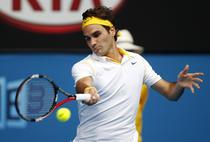 Roger Federer, la Australian Open