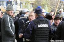 Pensionarii militari au protestat si la Constanta