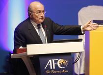 Sepp Blatter, presedintele FIFA