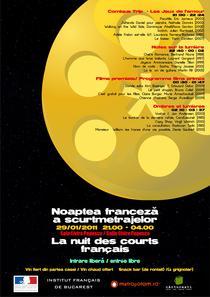 Noaprea franceza a scurtmetrajelor - afis