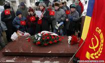 Nostalgici la mormantul lui Ceausescu