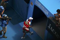 Justine Henin parasind Australian Open