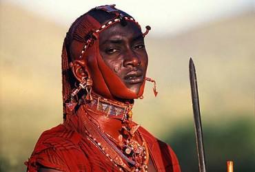 Al maasai warrior