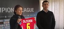 Managarova a semnat cu Oltchim
