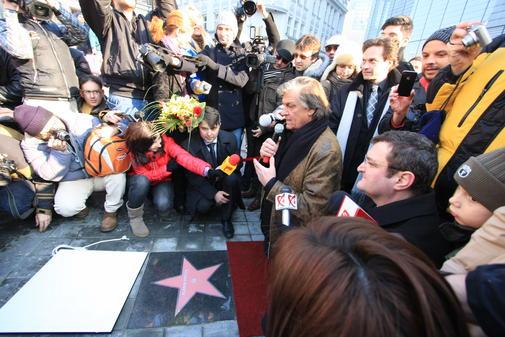Inaugurarea Walk of Fame
