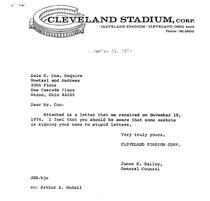 Raspunsul oficialilor clubului Cleveland Browns