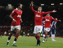 Nani aduce victoria lui Manchester United