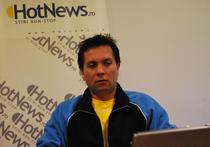 Claudiu David in redactia HotNews.ro