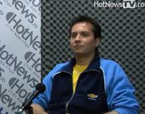 Claudiu David in studioul HotNews.ro