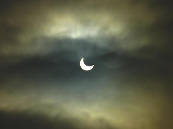Eclipsa partiala soare