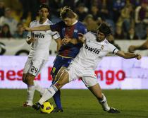 Levante, succes important cu Real Madrid