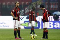 Milan, doar remiza pe propriul teren
