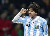 Lionel Messi, sanse mici sa ajunga la Bucuresti