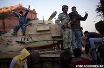 Sarbatoare in Piata Libertatii din Cairo