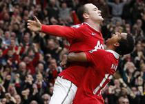 Rooney si Nani aduc victoria lui Manchester United