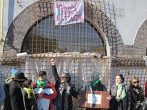 Protest pentru Hala Matache - GALERIE FOTO