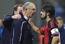 Nervii lui Gattuso, aici in conflict cu Joe Jordan, asistentul lui Redknapp (Tottenham)