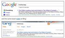Bing, acuzat de furt