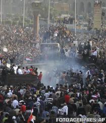 Confruntari violente in PiataTahrir