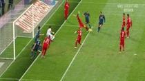Faza golului marcat de Inter