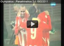 Olympiacos, victorie in derbiul cu Panathinaikos