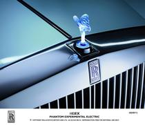 Rolls aduce o masina de test 100% electrica
