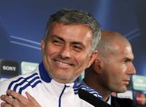 Joe Mourinho, alaturi de Zinedine Zidane