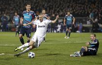 Benzema deschide scorul la Lyon