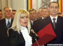 Elena Udrea si Victor Ponta in 2008, colegi de Guvern