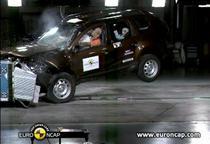 Dacia Duster, la Euro NCAP