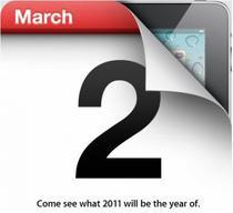 Lansare iPad 2
