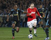 Rooney, talonat de Kabore (OM vs Man Utd 0-0)