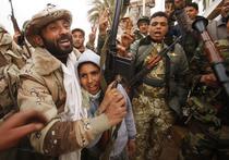Protestatari in Benghazi
