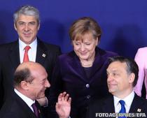 Sub privirile lui Merkel, Basescu si Viktor Orban se inteleg tot mai bine