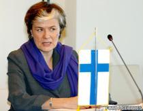 Astrid Thors, ministrul Afacerilor Europene si Migratiei din Finlanda