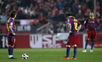 Barcelona, doar remiza la Sevilla