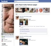 Profilul creat de Vatican