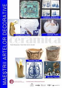 Expozitia: Maestrii artelor decorative
