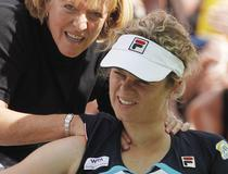 Kim Clijsters, abandon la Indian Wells