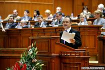 Emil Boc, in Parlament