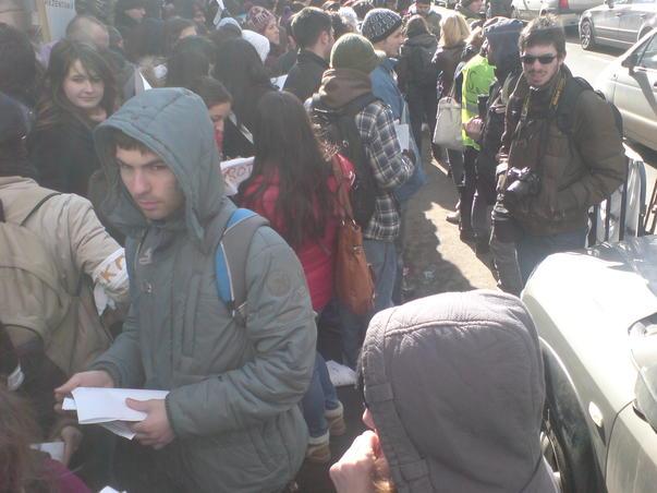 Protest studentesc