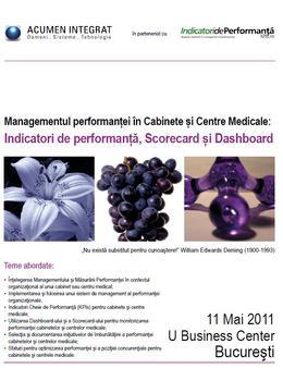 Curs Managementul performantei