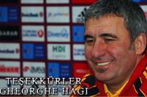Gica Hagi s-a despartit de Galatasaray