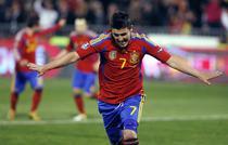 Villa, golgeterul Spaniei