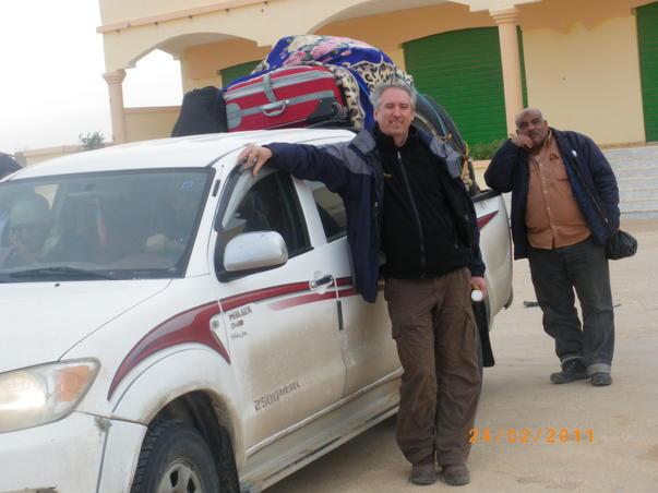 Fuga din Libia