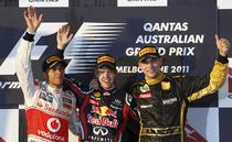 Podiumul de la Melbourne (Formula 1)